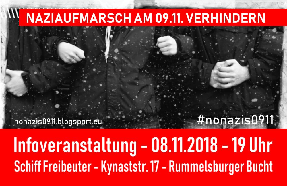 Nazi-Verbot hin oder her – Unsere Infoveranstaltung am 8. November findet statt