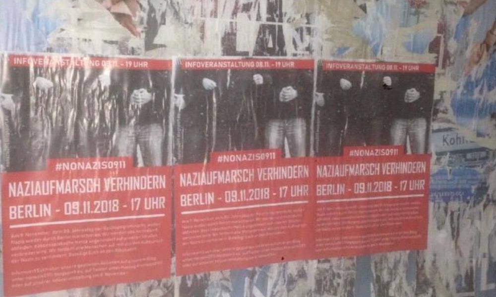 Unsere Plakate tauchen überall in Berlin auf